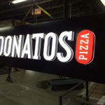 Donatos Pizza sign