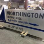 Worthington Industries sign