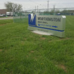 Worthington Industries outdoor sign