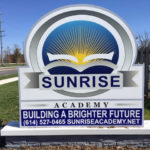 Sunrise Academy outdoor sign
