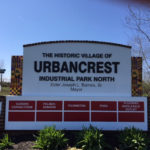 Urbancrest Industrial Park North outdoor sign