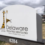 outdoor sign for Delaware Pediatric Dentistry