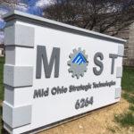 Mid Ohio Strategic Technologies outdoor sign
