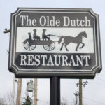 The Olde Dutch Restaurant outdoor sign