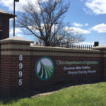 Brick outdoor sign for Ohio Department of Agriculture